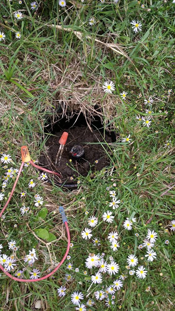 Irrigation Wire Repair