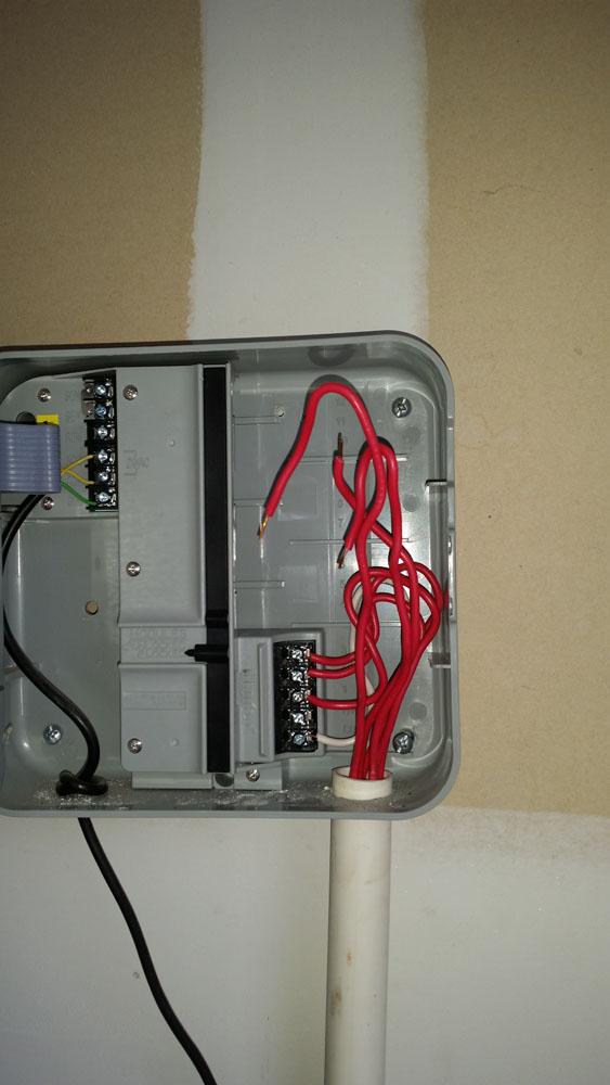 Irrigation Controller Installation