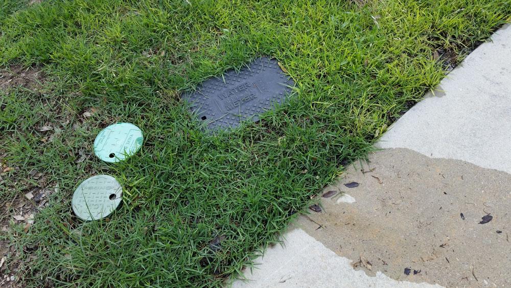 Irrigation Valve Leak